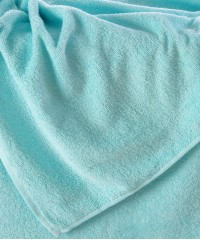 Простыня махровая 155х200 св. голубое