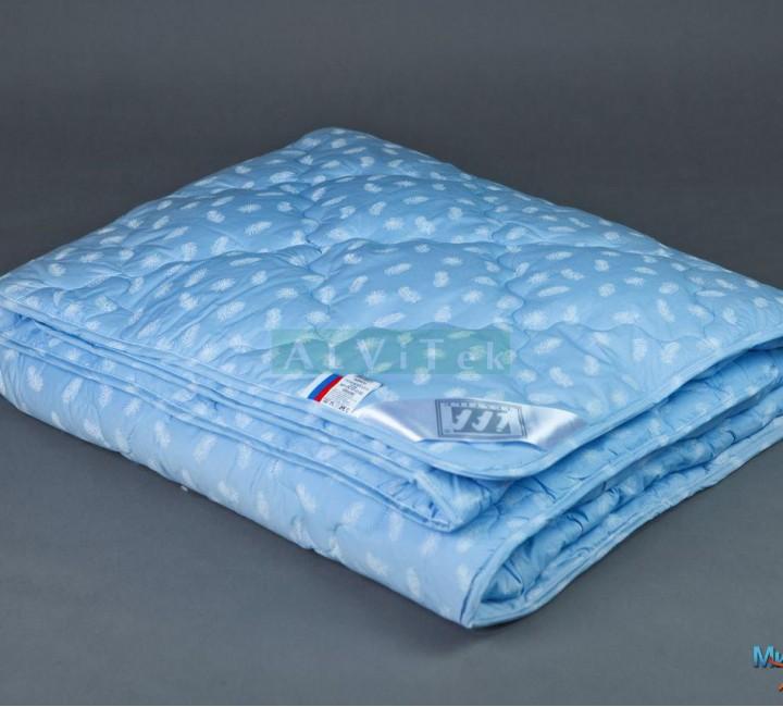 """Одеяло """"Лебяжий пух"""" лёгкое 140х205 Альвитек Одеяла """"Лебяжий пух"""""""