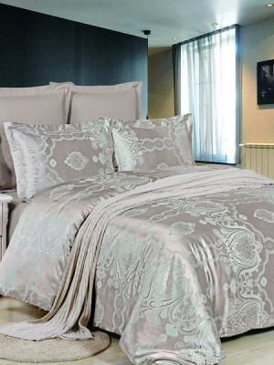 JC-44 Комплект постельного белья Сатин-жаккард (1,5 спальный)