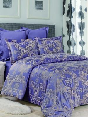 JC-34 Комплект постельного белья Сатин-жаккард (1,5 спальный)