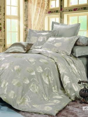 JC-24 Комплект постельного белья Сатин-жаккард (1,5 спальный)
