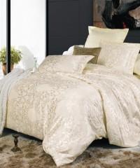 JC-04 Комплект постельного белья Сатин-жаккард (Семейный размер)