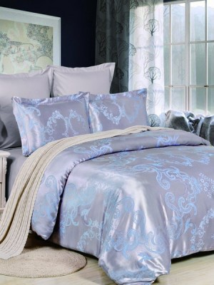 JC-41 Комплект постельного белья Сатин-жаккард (1,5 спальный)