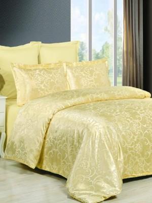 JC-43 Комплект постельного белья Сатин-жаккард (1,5 спальный)
