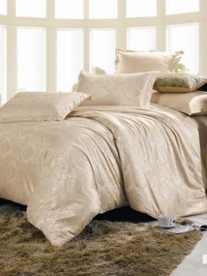 JC-11 Комплект постельного белья Сатин-жаккард (Семейный размер)