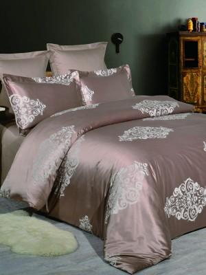 JC-56 Комплект постельного белья Сатин-жаккард (1,5 спальный)