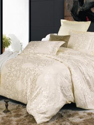 JC-04 Комплект постельного белья Сатин-жаккард (1,5 спальный)