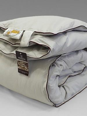 Одеяло пуховое кассетное «Ружичка» 1,5 спальное
