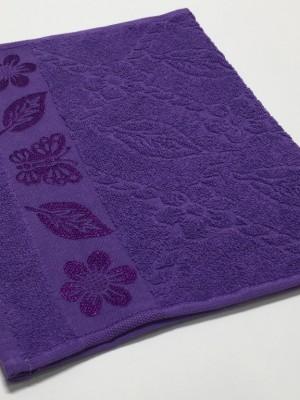 Сирень Cotton ( Бабочка ) 50х90 хлопок М полотенце (1шт) Фиеста