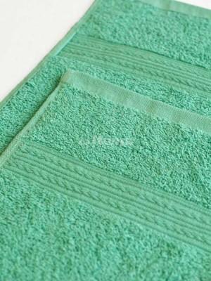 Светло-зеленое 100х180 Полотенца махровое 1 шт ITUMA