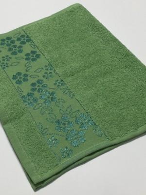 Зеленый ELARA 70х130 хлопок М полотенце (1шт) Фиеста