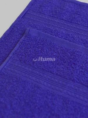 Темно-синее 70х140 Полотенца махровое 1 шт ITUMA