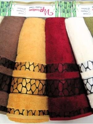 5189 Камни Бамбук 70х140 ( 6шт) 550гр.полотенце SIKEL