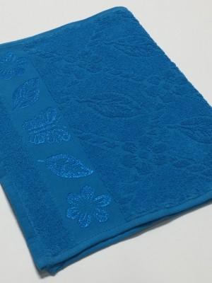 Бирюза Cotton ( Бабочка ) 50х90 хлопок М полотенце (1шт) Фиеста