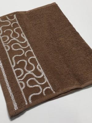 Коричневый Arabeska 70х130 хлопок М полотенце (1шт) Фиеста