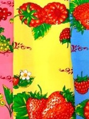 кухня В Клубничка 35х60 (12 шт ) арт. KX093 полотенце LIKE TEXTILE