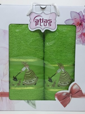 Травяной Дамское счастье М ( 50х90+70х140) в коробке Атлас Текстиль