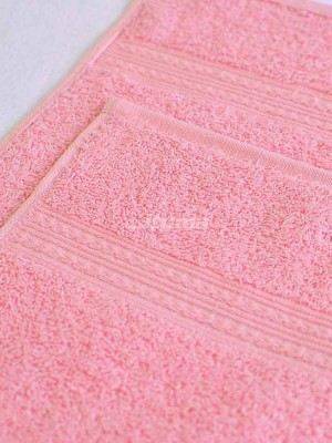 Светло-розовое 100х180 Полотенца махровое 1 шт ITUMA