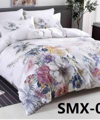 SMX-17 Комплект постельного белья Евро размера из Сатина премиум