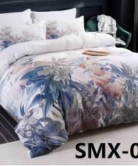 SMX-18 Комплект постельного белья Евро размера из Сатина премиум