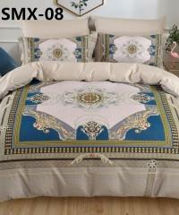 SMX-08 Комплект постельного белья Евро размера из Сатина премиум