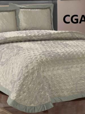 CGA-071-Евро Покрывало жаккард Люкс