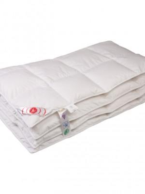 """Купить одеяло теплое """"Виктория"""" 150х200 см наполнитель: элитный белый гусиный пух категории премиум"""