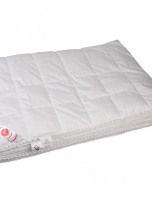 """Купить одеяло кассетное всесезонное """"Глория"""" 220х240 см наполнитель: элитный белый гусиный пух категории премиум"""