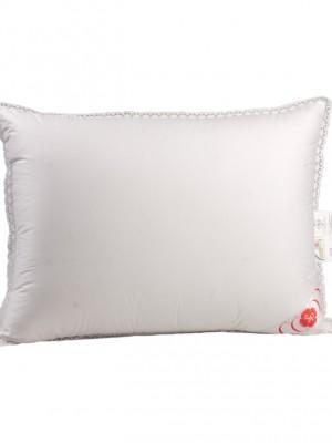 """Подушка мягая """"Лилия"""" 38х60 см наполнитель: элитный белый гусиный пух категории Премиум"""