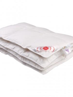 Детское пуховое одеяло «Белый гусенок» 110х140 см