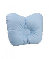 Детская ортопедическая пуховая подушка для новорожденного «Серый гусенок» 21x25 см