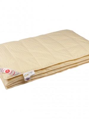 """Купить одеяло кассетное легкое """"Пушинка"""" 150х200 см наполнитель: серый гусиный пух высшей категории"""