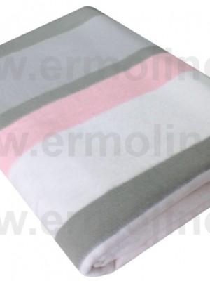 Полосы Байковое жаккард 205х150 100% х/б арт. 5772ВЖК/М Ермолино одеяло