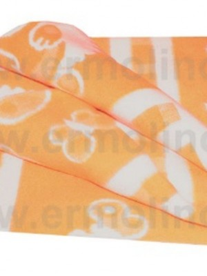 Оранжевый 57-8ЕТЖ 100х140 100% х/б Байковое жак Ермолино одеяло