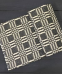 Серый Клетка Байковое 100х140 90% х/б арт. 57-3ЕТ ( Эконом ) Ермолино Одеяло