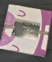 Валериана Мишка 57-8ЕТЖ Премиум 100х140 100% х/б Байковое жаккард Ермолино одеяло