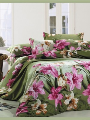 MF-44 комплект постельного белья микрофибра Valtery Семейный