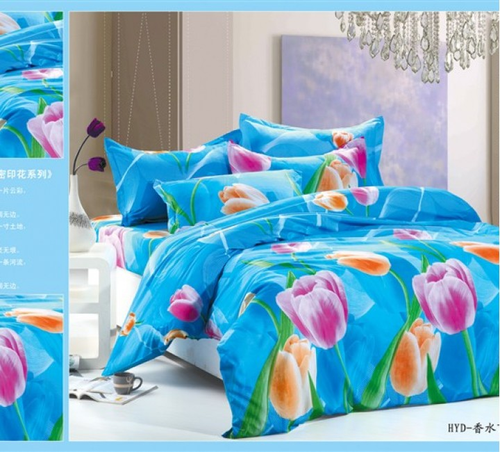 MF-40 комплект постельного белья микрофибра Valtery 2х спальный