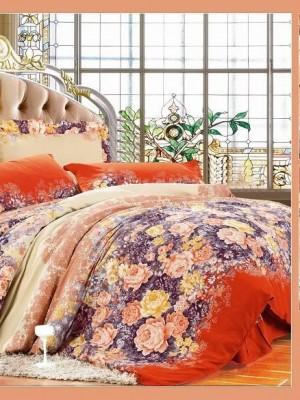MF-30 комплект постельного белья микрофибра Valtery 2х спальный