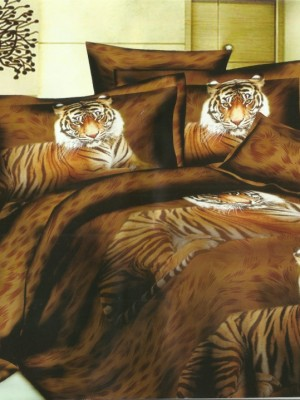 SF-03 комплект постельного белья Полисатин 3D Home Collection 2х спальный