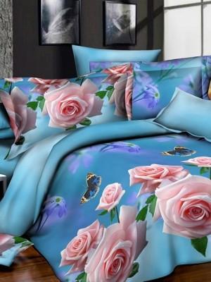 SF-13 комплект постельного белья Полисатин 3D Home Collection Евро