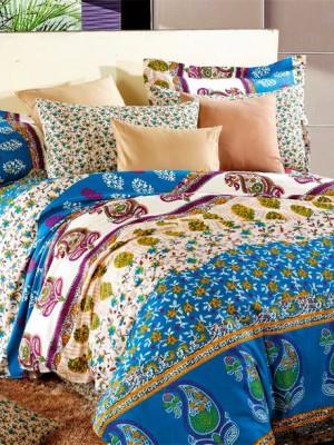 С-132 комплект постельного белья Сатин Valtery 1,5 спальный