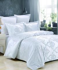 JC-42 комплект постельного белья Сатин-жаккард Valtery 1,5 спальный