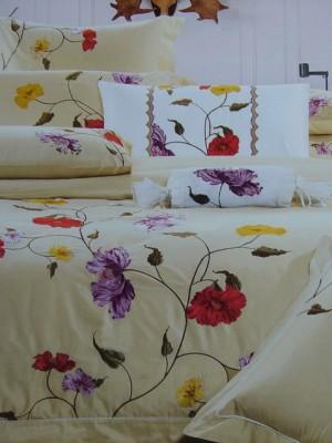 100-04 комплект постельного белья Сатин с вышивкой Valtery Евро