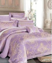 Комплект постельного белья сатин-жаккард Семейный TJ112-436