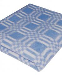 Синее Байковое 100х140 арт. 57-3ЕТ 90% х/б Ермолино одеяло