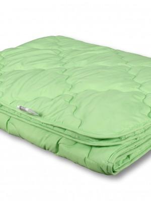 Одеяло бамбук микрофибра/полисатин лёгкое 140х205