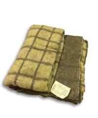 "Одеяло-плед ""Эконом"" (оверлок), 140х205, 75% шерсть"