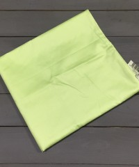 Салатовая наволочка ткань сатин 2шт.-70х70