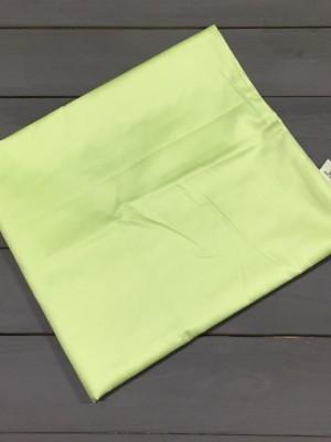 Салатовая наволочка ткань сатин 2шт.-50х70